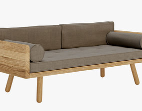 3D model Furniture - Another country modern sofa - C4d 2