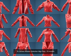 3D 70 Jackets Master Collection High Poly