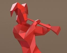 3D asset Jester