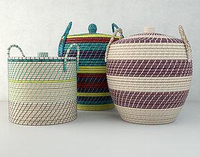 3D model Baskets by ZARA HOME 2