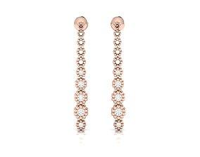 Women earrings 3dm render detail jewel jewellery