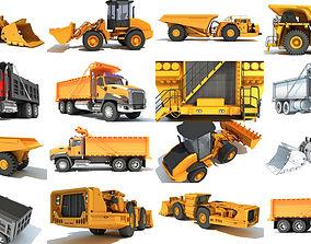 Mining Vehicles 3D Models