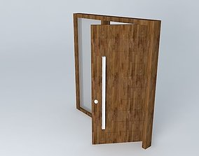 Gate entrance open 3D model