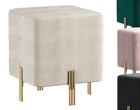 COLLECTION OF STOOL BURNETT BY EICHHOLTZ 3D