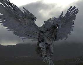 3D model phoenix bird