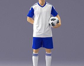3D Soccer player 1114-7