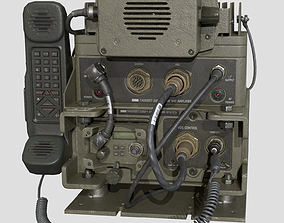 3D model game-ready Military radiostation PRC-2082
