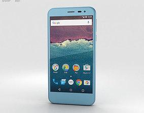 3D Sharp Aquos 507SH Blue