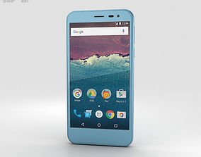 3D Sharp Aquos 507SH Blue