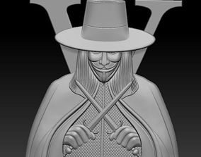 3D model mythical The Joker