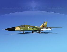 General Dynamics F-111 Aardvark V06 3D