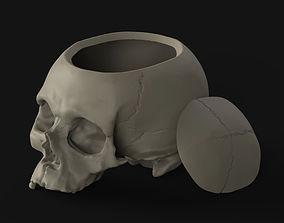 Skull box 3D printable model