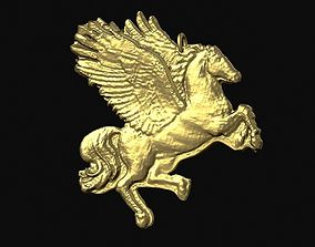 3D printable model Pegasus Pendant