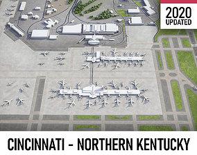 3D asset Cincinnati - Northern Kentucky Airport - CVG