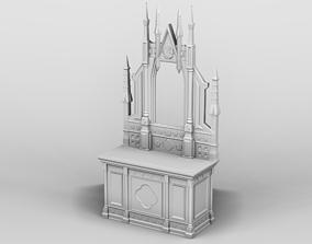 3D printable model Medieval furniture