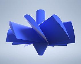 3D print model CNC Chip Fan