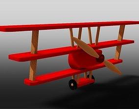 3D print model Airplane shelf - Red baron