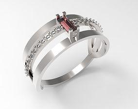 Ring Red dot STL 3D print model