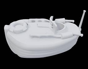speedboat vessel Speedboat 3D model