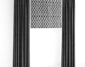 classic Curtain 78 3D
