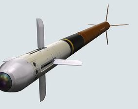 FZ275 Laser Guided Rocket 3D