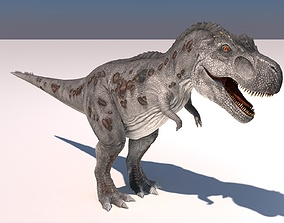 3D model rigged Tyrannosaurus Rex