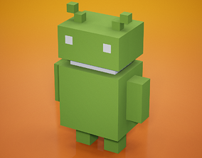 3D model Voxel - Android
