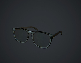 3D model Old Glasses pbr
