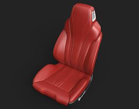 car seat 3D interior