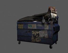 Dumpster 3D asset