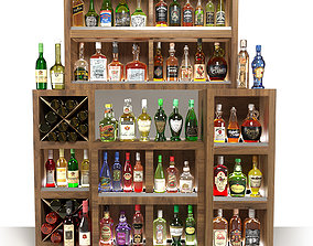 3D AlcoholStand