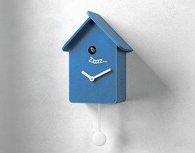 3D Softy Modern Cuckoo Clock