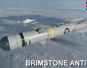 3D model MBDA Brimstone Missile