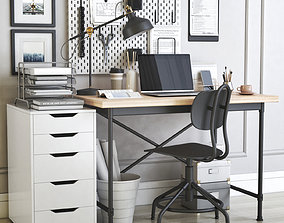 Office workplace 32 3D