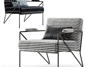 Kelly Wearstler Emmett Lounge Chair 3D model