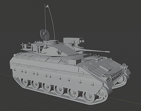 3D asset Armored Personnel Carrier