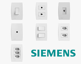 3D model Siemens Outlets and Switches