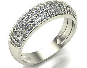 ring printable 3D print model WOMAN RING