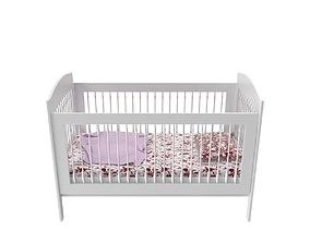 Baby bed A 3D