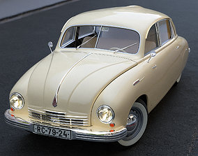 Tatra T600 Tatraplan 1948 3D