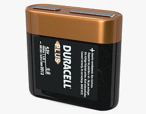 3D model Duracell 4-5 Volt Battery