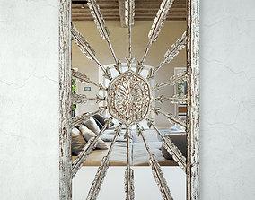 Vintage Jakarta Window Mirror 3D