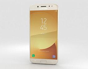Samsung Galaxy J5 2017 Gold 3D model