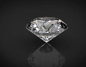 Diamond 3D model low-poly