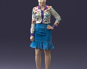 Fasion woman 1017 3D Print Ready