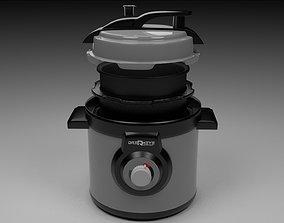 3D model Pressure cooker electrical