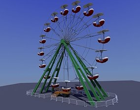 Ferris Wheel 3D model