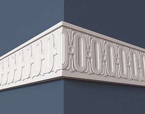 classical details 3D model Frieze