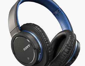 3D asset Sony MDR-ZX770BN headphones
