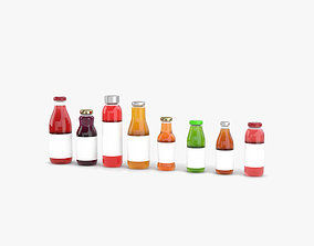 beverage 3D Juice Bottle